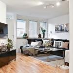 2-living modern amenajare plan deschis apartament modern mic doua camere