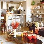 2-living si bucatarie open space apartament modern