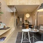 2-living si dining casa mica prefabricata 45 mp Heijmans One Amsterdam
