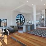 2-living si dining open space apartament penthouse 3 nivele brooklyn manhattan new york