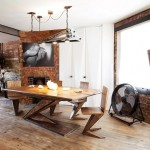 2-loc de luat masa apartament stil industrial soho londra