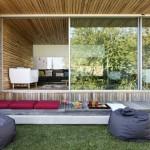2-loc de relaxare din perne moi pe terasa sau in gradina casei