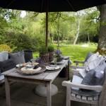 2-loc de relaxare terasa casa mediu rural danemarca