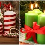 2-lumanari-pentru-revelion-decorate-cu-panglici-rosii