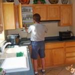 2-masuratori pentru refatetarea mobilierului de bucatarie si schimbarea usilor vechi