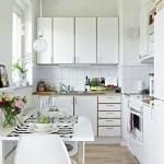2-mobila alba stil scandinav amenajare bucatarie mica