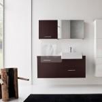 2-mobilier baie alb si aubergine Dolomiti magazin Nuvola
