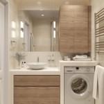 2-mobilier design minimalist amenajare baie moderna mica