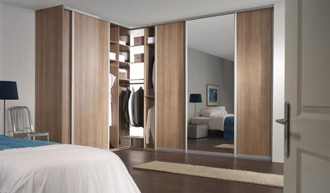 2-model dressing cu usi glisante proiectat pe doi pereti dormitor ...