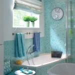 2-mozaic nuante bleu decor pereti baie