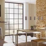 2-panouri decorative din lemn UltraWood Teak Toscani amenajari interioare