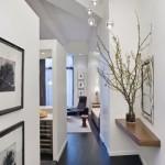 2-parchet laminat negru in amenajarea unui apartament modern