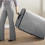 2-patul extensibil pentru musafiri Ez-Bed ascuns intr-o valiza