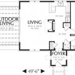 2-plan compartimentare interioara casa 90 mp stil mediteranean