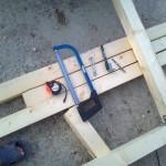2-pregatirea materialelor pentru constructia locului de joaca Melania