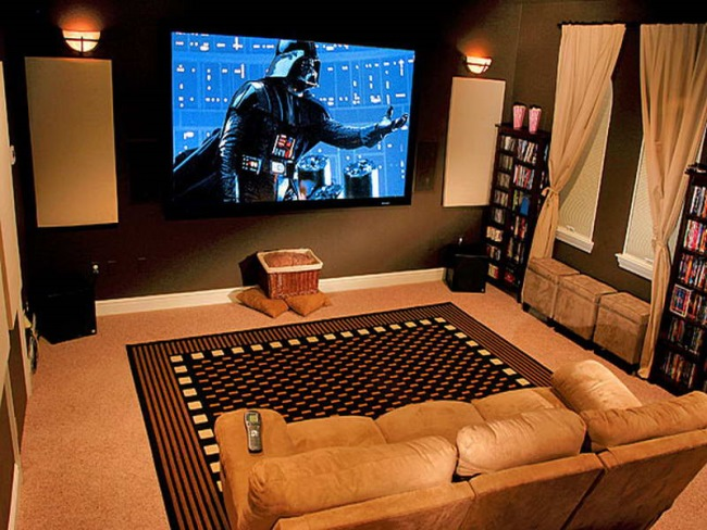2-sala de cinema amenajata acasa