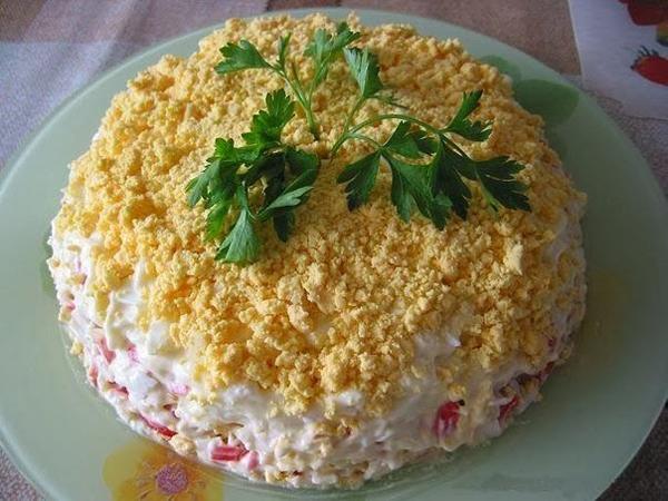 2-salata de ton si legume in straturi