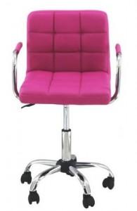 2-scaun de birou pentru copii culoare roz magazin Expert Scaune