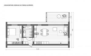 2-schita casa modulara prefabricata Plusmodul 68 mp