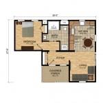2-schita compartimentare interioara casa mica pentru parinti sau bunici Mossfield Cottage