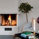 2-semineu cu foc lemn apartament 3 camere mansarda