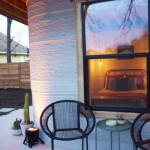2-terasa exterioara casa mica din beton tiparita imprimanta 3D ICON New Story