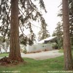 2-vedere stradala casa moderna minimalista 45 mp parter si loft deschis