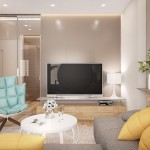 2-zona relaxare in fata tv-ului living apartament modern