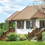 20-scari din lemn acces prispa si terasa casa taraneasca Polonia