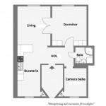 20-schita plan apartament scandinav cu 3 camere