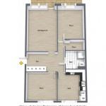 20-schita planapartament 3 camere 80 mp