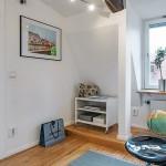 20-vedere dinspre birou spre living apartament mansarda