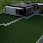 2 exterior casa structura metalica - Vision House