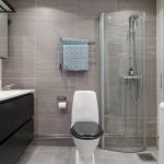 21-decor alb negru si gri baie moderna