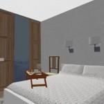 21-varianta amenajare dormitor matrimonial fara aparat fitness cu comoda si TV