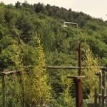 22-dus de vara amenajat in curte ferma pensiune ecologica