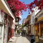 22-strazi colorate in orasul Nafplio Grecia
