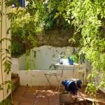 28-masuta si scaune din fier forjat gradina casa urbana