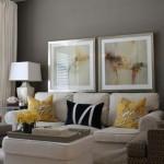 3-accente colorate galbene amenajare living modern