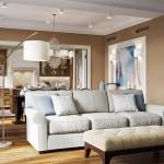 3-accente decorative bleu intr-o amenajare eleganta in nuante de bej