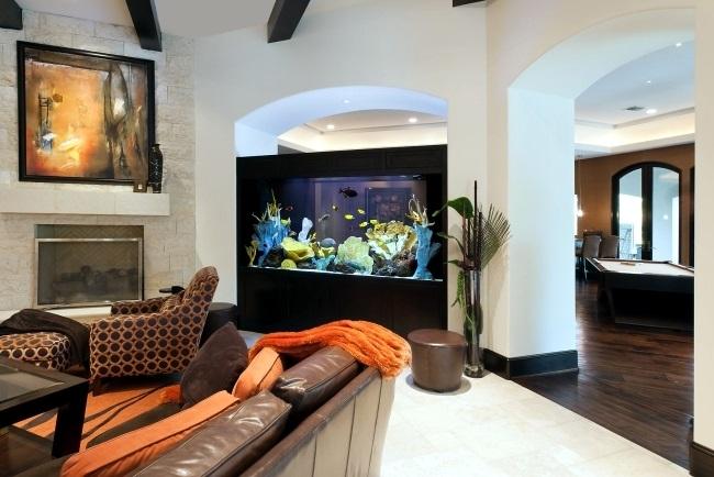 3-acvariu decorativ mare amenajare living modern
