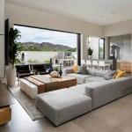3-amenajare living minimalist modern cu accente eco