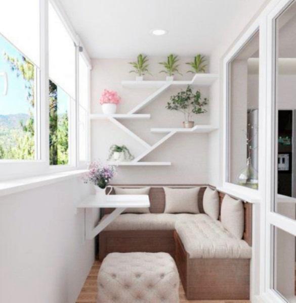 3-amenajare loc de luat masa in balcon mic de apartament