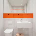 3-amenajare minimalista baie cu toaleta suspendata pe perete