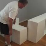 3-asezarea in pozitie a dulapurilor de bucatarie
