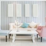 3-asortare canapea cu fotolii colorate diferit amenajare living modern