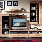 3-biblioteca pentru living Visage culoare stejar deschis magazin Kika