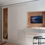 3-birou integrat in dressing mobil garsoniera 39 mp