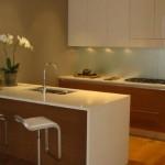 3-blat lucru cuart alb bucatarie moderna