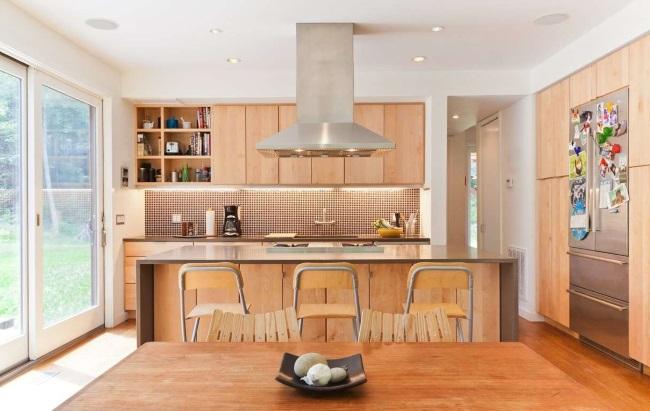 3-bucatarie design modern casa modulara prefabricata proiect zona suburbana